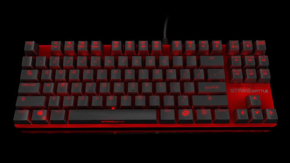Ozone Strike Battle Keyboard